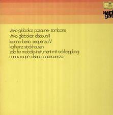 Globokar, Berio, Stockhausen, DGG Avantgarde Tulip LP, Vinko Globokar ED 1