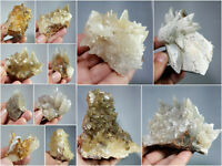 Natural Dog Tooth Calcite Clusters Crystal Specimens Lot 12Pcs 4.7kg