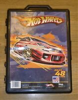 Vintage Hot Wheels Car Carry Case - Includes 48 x 1970's Vehicles