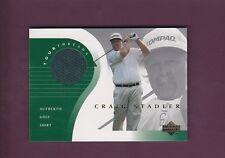 Craig Stadler 2001 Upper Deck Golf Tour Threads (Mint) Shirt Memorabilia