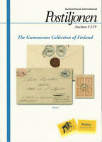 Gummesson Collection of Classic Finland, Postiljonen Auction Catalog, Sale 219