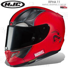 CASCO INTEGRALE HJC RPHA 11 MARVEL DEADPOOL 2 / MC1SF OPACO 2019 MOTO PINLOCK