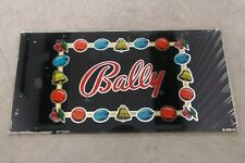 Vintage 1970's Bally Slot Machine Glass