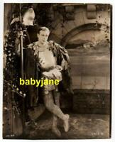 WALLACE REID ORIGINAL 8X10 PHOTO WEARING SUIT OF ARMOR 1919 YOU'RE FIRED