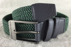 Under Armour Youth Boy's Gray Braided Stretch Golf Belt ~ Excellent Condition!