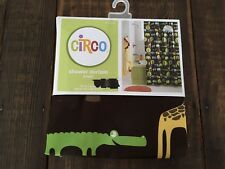 NWT Circo Shower Curtain~Jungle Collection~Animal Print~Washable~72x72