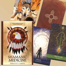 SHAMANIC MEDICINE ORACLE  50  Cards 120 Page Guidebook Meiklejohn /  Peters