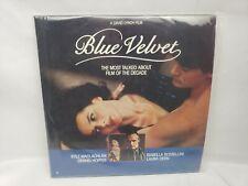 Blue Velvet - David Lynch Film - Dennis Hopper - Laser Disc Laserdisc LD