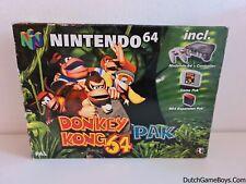 Nintendo 64 Donkey Kong 64 Pak