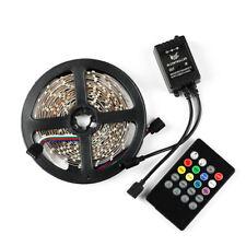 5M 300leds RGB 3528 Flexible LED Light Strip Waterproof +20keys Music Controller