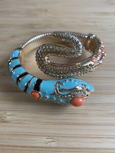Anna Dello Russo At H&M Snake Bracelet