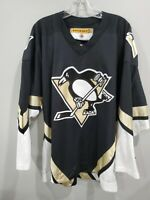VTG 90s KOHO NHL Pittsburgh Penguins Black Alternate Hockey Jersey Mens L Sewn