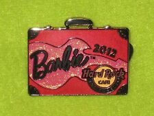 Hard Rock Cafe Pink Barbie Convention Suitcase Briefcase Los Angles Limited Pin