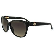Occhiali da sole da donna con montatura in nero Gucci Tecnologia lenti Gradiente