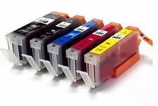 5 Canon PGI550 CLI551 Ink Cartridge for iP7250 MG5450 MG6350 MG6450 MG7150 MX925