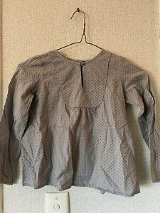 Bonpoint Girl Blouse Top Size 6