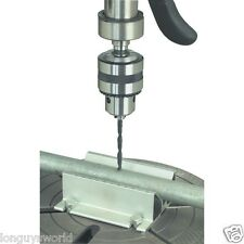 V JIG ANGLE BLOCK FOR DRILLING ROUND PIPE ON DRILL PRESS CENTERING DOWELS VISE