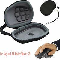 Black Hard Travel for Logitech MX Master/Master 2S Wireless Mouse Storage Case