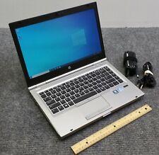 "HP EliteBook 8470p 14"" Laptop Core i5-3320M, 8 GB RAM, 750 GB HDD w/Adapter"
