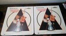 Stanley Kubrick's Clockwork Orange Rca Ced Video Disc Two Disc Warner Home Vtg