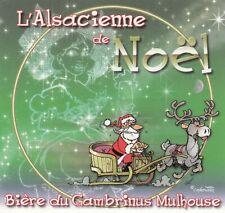 Etiquette de bière Framboise d/'amour L/'Alsacienne du Gambrinus