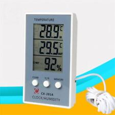 Indoor & Outdoor Electronic Hygrometer Thermometer Battery Power Weather Station