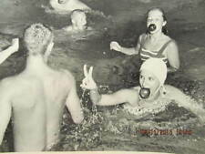 1960 News Photo Mary Koch & Mary Rogers at Country Club Pool Party Evansville IN