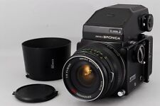 [EXC+++] Bronica ETR S 6x4.5 w/ ZENZANON-MC 40mm F/4 Lens AE Finder from JAPAN