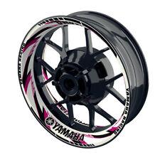 Felgenaufkleber Motorrad Felgenrandaufkleber Wheelsticker Yamaha Razor pink - W