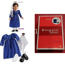 American Girl Josefina Navidad Outfit Holiday Christmas Dress Veil NEW IN BOX