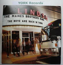 MAINES BROTHERS - Boys Are Back In Town - Ex LP Record