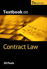 Textbook on Contract Law by Jill Poole (Paperback, 2004)
