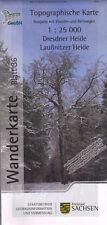 Wanderkarte Dresdner Heide, Laußnitzer Heide - Blatt 36 / 1:25 000