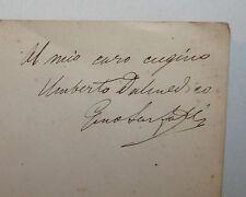 Poesia Rime, Gino Sarfatti: Vasi a Samo Versi 1879 Venezia Carducci Cavallotti