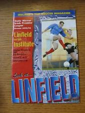 06/12/2003 Linfield v Institute  (No obvious faults)