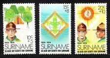 Suriname - 1974 50 years scouting Mi. 677-79 MNH