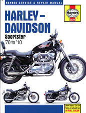 Harley Davidson 883 883R XL1000 1200 Sporster 1970-2010 Manuale Haynes 2534