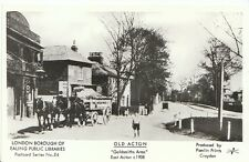 "London Postcard - Old Acton - ""Goldsmiths Arms"" - East Acton c1908  2171"