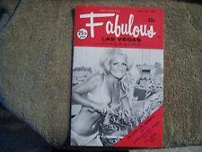 Fabulous Las Vegas Magazine Jan Murray Pat Henry Bobby Darin 5/27/1972