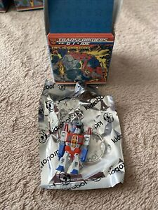 Gi Joe Transformers Vinyl Keychain Kidrobot Starscream