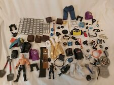 Wwf/wcw Accesories And Weapons Belts Clothes Bundle Joblot