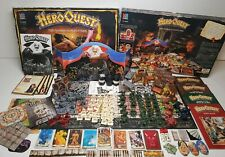 Hero Quest board game & 3 Expansion Packs! *COMPLETE* Unpainted VGC 1989