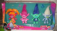 #9387 NRFB Hasbro Dreamworks Trolls Target Stores 4 Doll Giftset