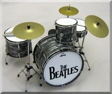 RINGO STARR Beatles  Miniature DrumSet  Drum Set ( for display only )