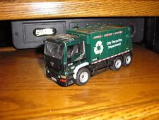 "Vintage 5 5/8"" Long Foreign City Recycling Department Garbage Truck Free Ship"