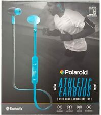 New listing Bluetooth Wireless Sport Fit Earbuds with Mic - Blue