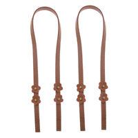 2x Leather Shoulder Bag Handles Handbags Strap Replacements DIY Purse 70cm
