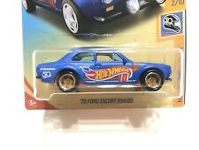Hot Wheels '70 Ford Escort RS1600 - w/Real Riders Rubber Tires SUPER CUSTOMIZED