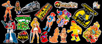 80's Tribute Contour Cut Vinyl Sticker Bundle