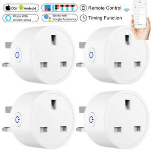 Smart WiFi Plug Socket Outlet Switch Remote Control Amazon Google Home IFTTT UK